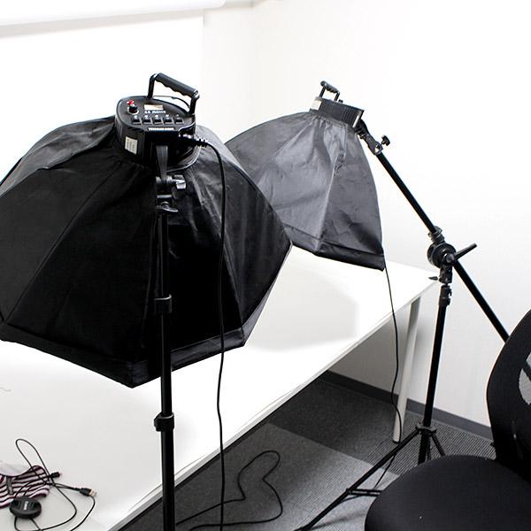 7階には撮影室もあり、ここでECサイトの商品写真などを撮影しています。